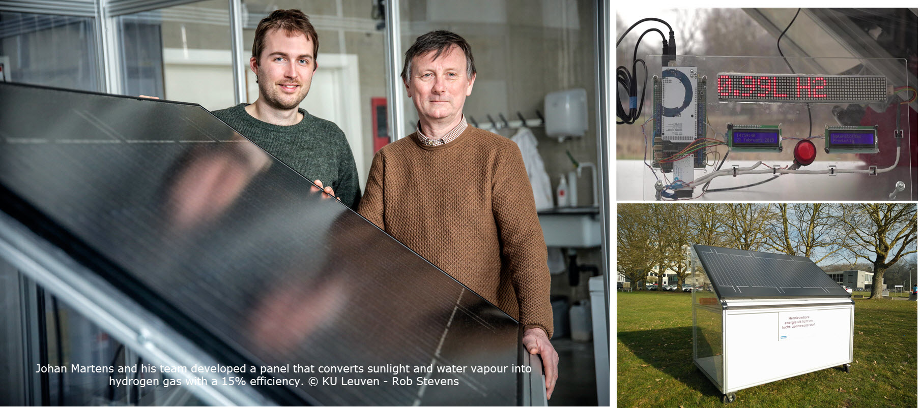 Looking past the Hype: KU Leuven Researchers Shed More Light on their Hydrogen Panel - FuelCellsWorks