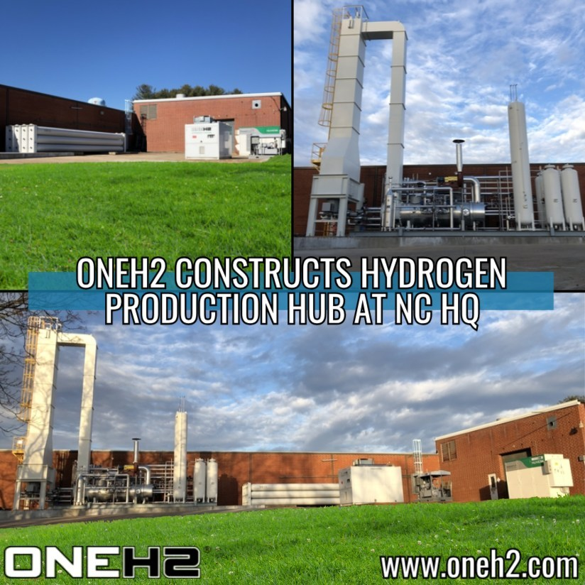 One H2 Hydrogen Production Facility in NC