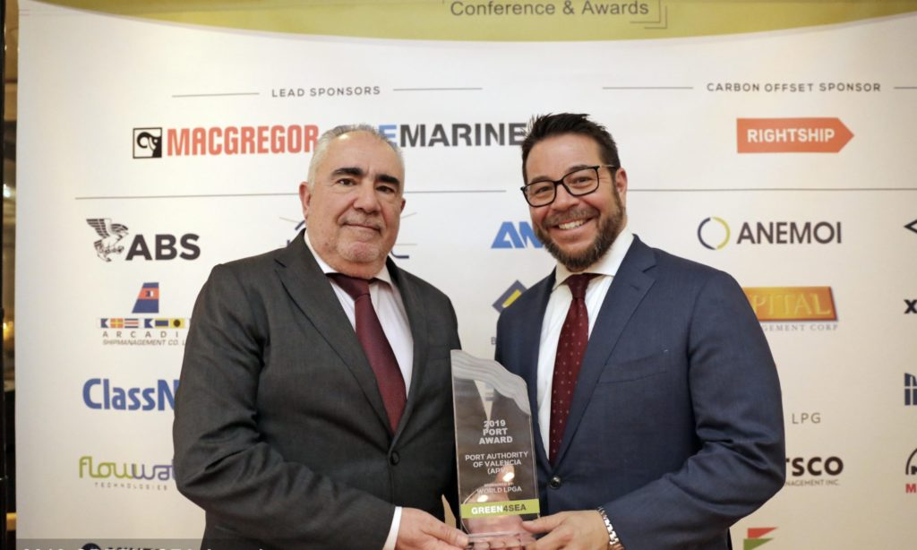 Port of Valencia 2019 Port Award for use of hydrogen2