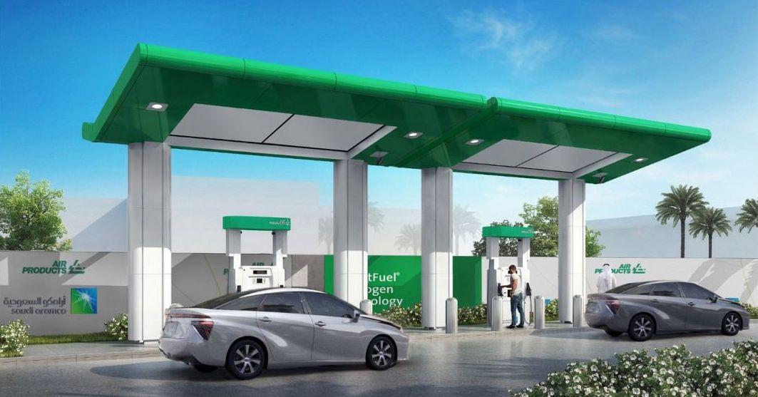 Saudi Hydrogen Station