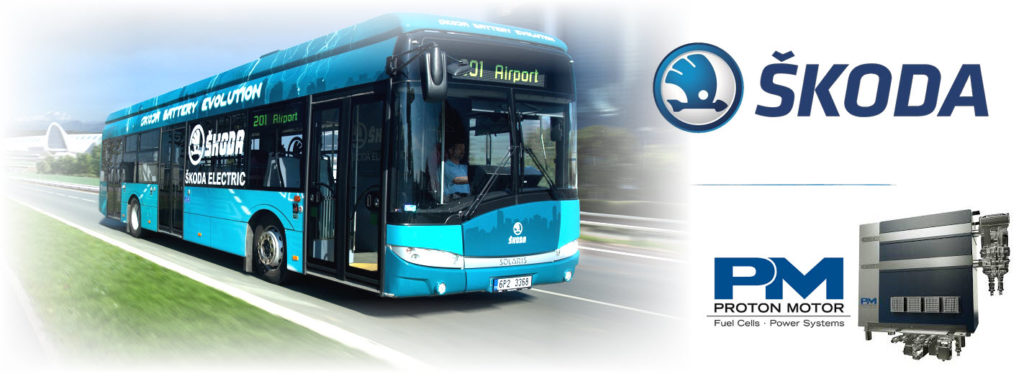 Proton Power Systems and Skoda Electric to Develop Hydrogen Fuel Cell Buses