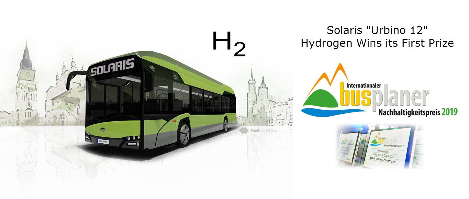 Solaris Hydrogen Bus Win Prize