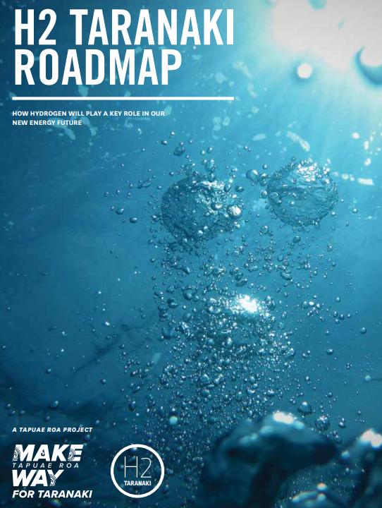 Taranaki H2 Roadmap