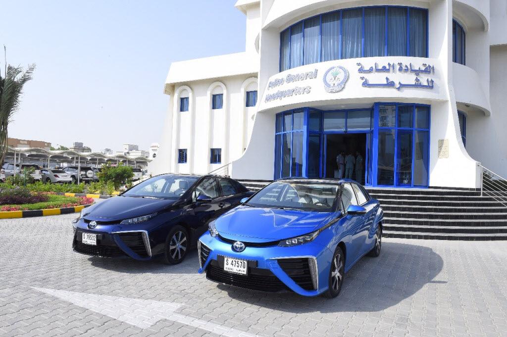 UAE Testing Hydrogen Fuel Cell Cars Sharjah Police