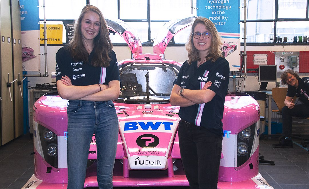 Women at Forze Hydrogen Electric Racing