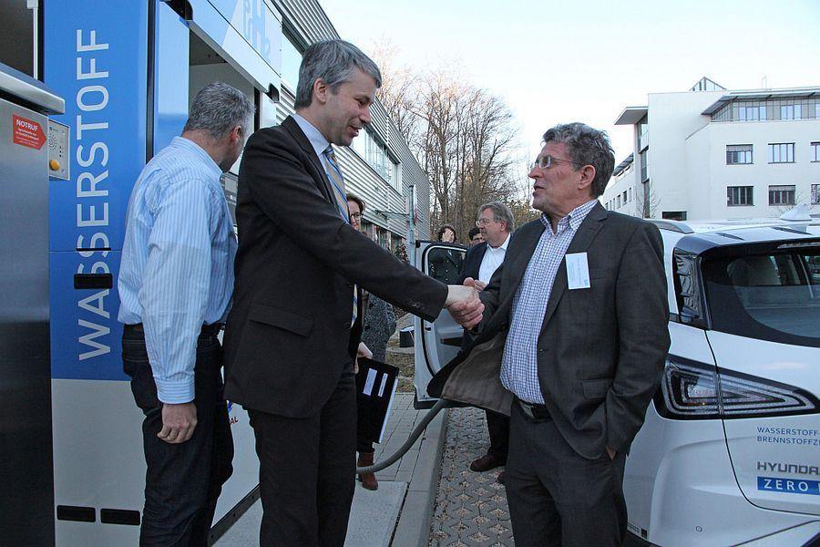 ZSW High Ranking Meeting Hydrogen Fuel Cells