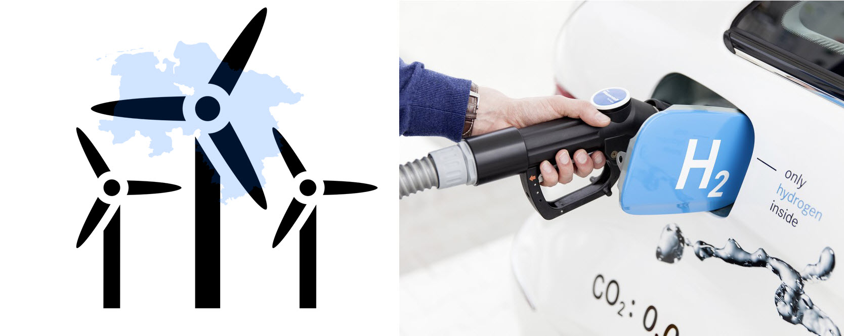 hydrogen fueling station H2 MOBILITY with Wind