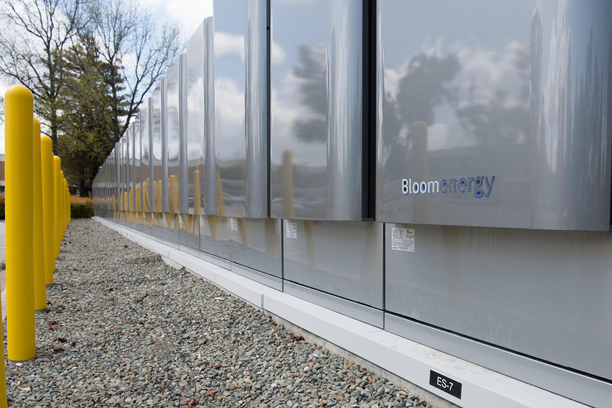 BloomEnergy fuel cells Agilent