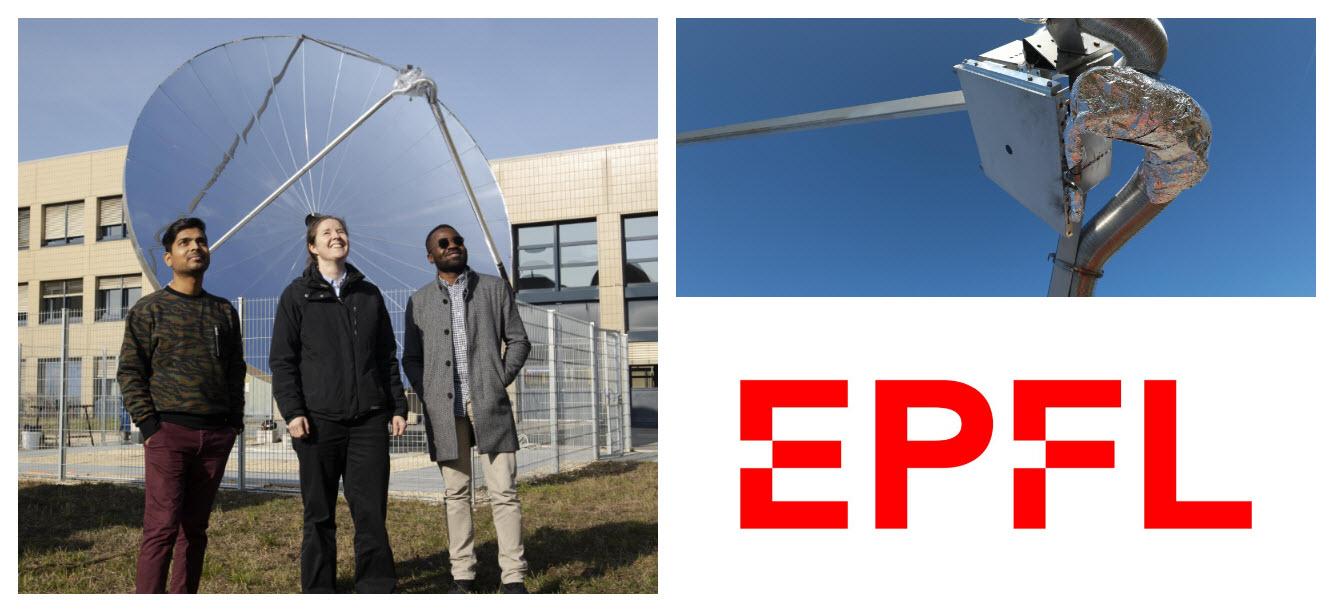 EPFL Researchers Solar Hydrogen
