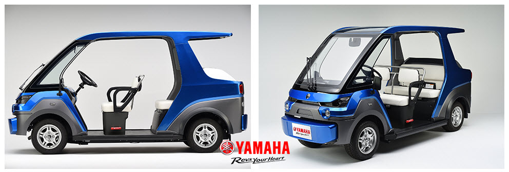 Fuel cell vehicle YG M FC by Yamaha