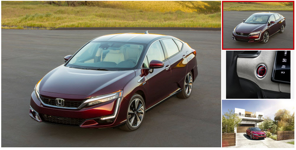 Honda Fuel Cell Clarity