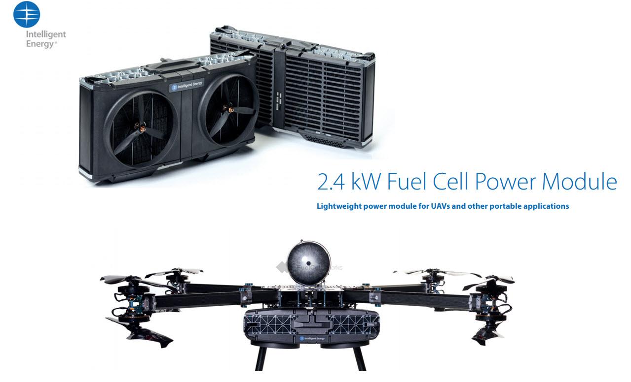 Intelligent Energy 2.4 kW system Main FCW