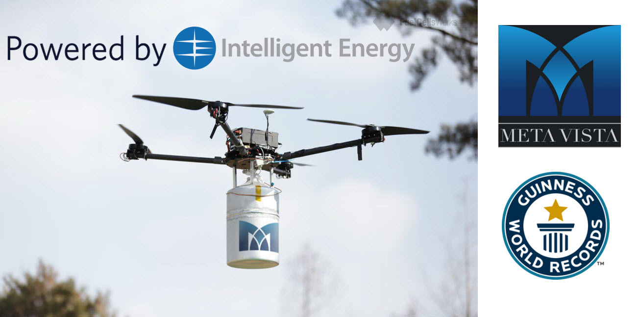 Intelligent Energy Drone Record2