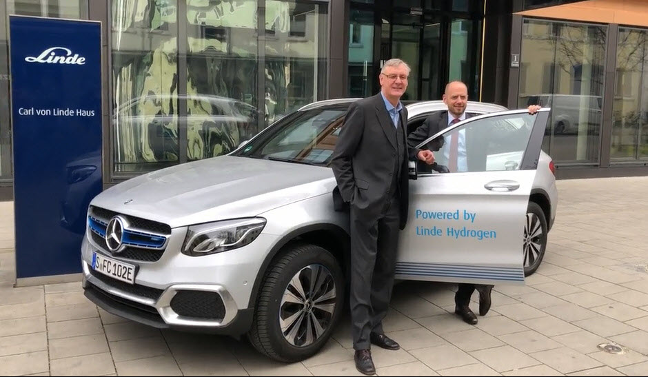 Linde Fuel Cell GLC FCELL Hand Off