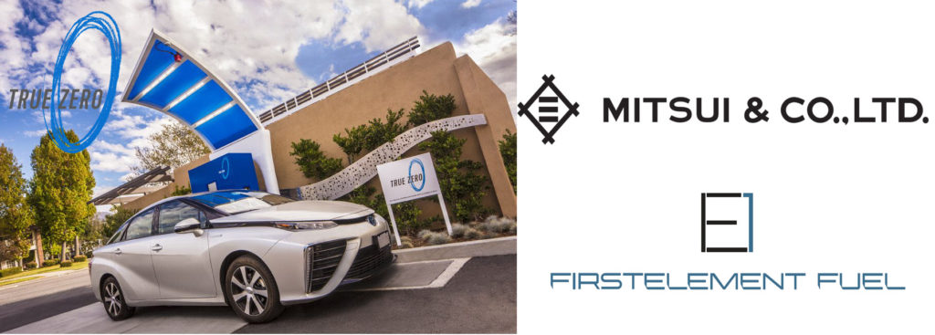 Japan's Mitsui Begins Business Collaboration with Hydrogen Station Operator in California