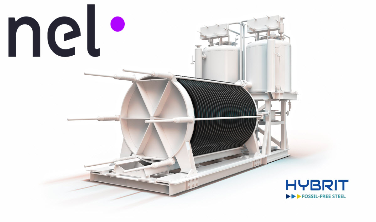Nel Electrolyser to Hybrit Fossil Free Steel