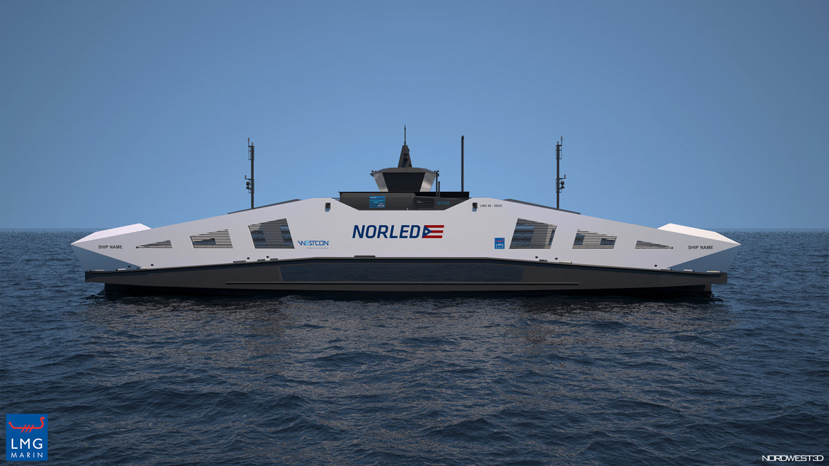 Norled Hydrogen Ferry Boat