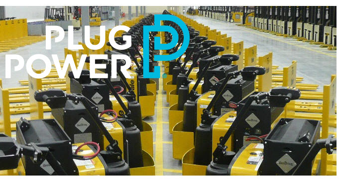 Plug Power GenDrive Lift Truck Fleet New