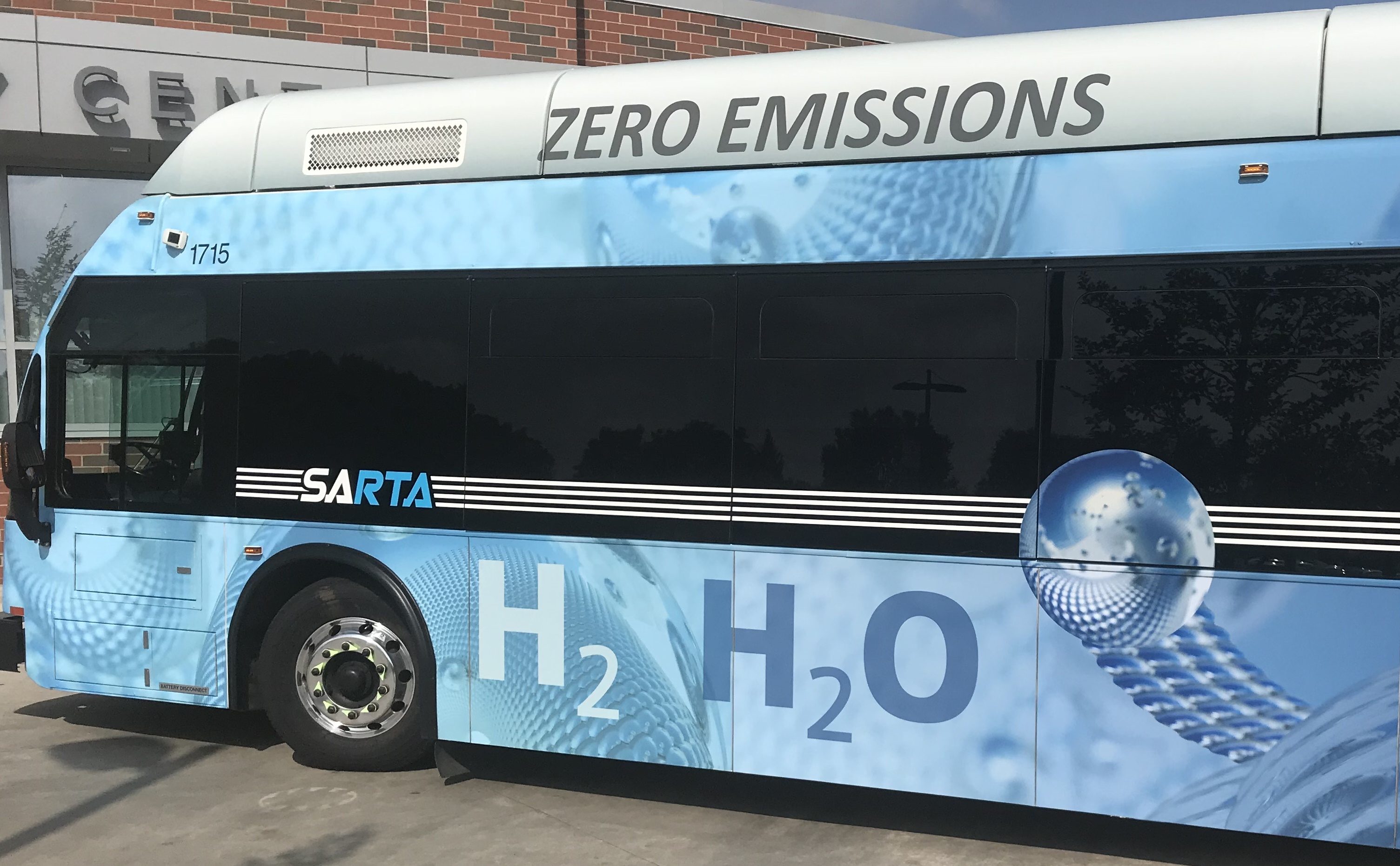 SARTA Fuel Cell Buses Announcement On Hydrogen Fuel Cell Day