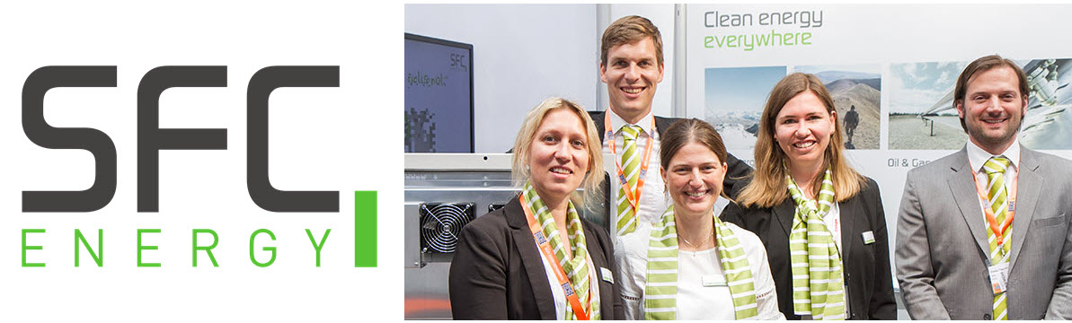 SFC Energy at Hannover Messe 2019