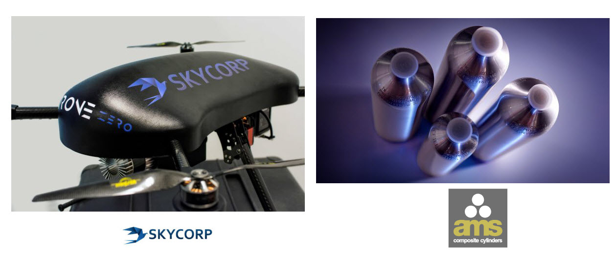 SkyCopr hydrogen drone