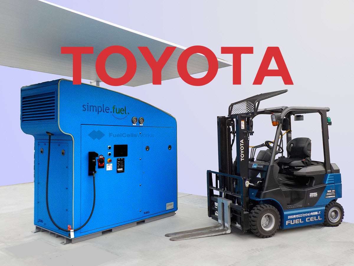 Toyota to use SimpleFuel Hydrogen Station Main
