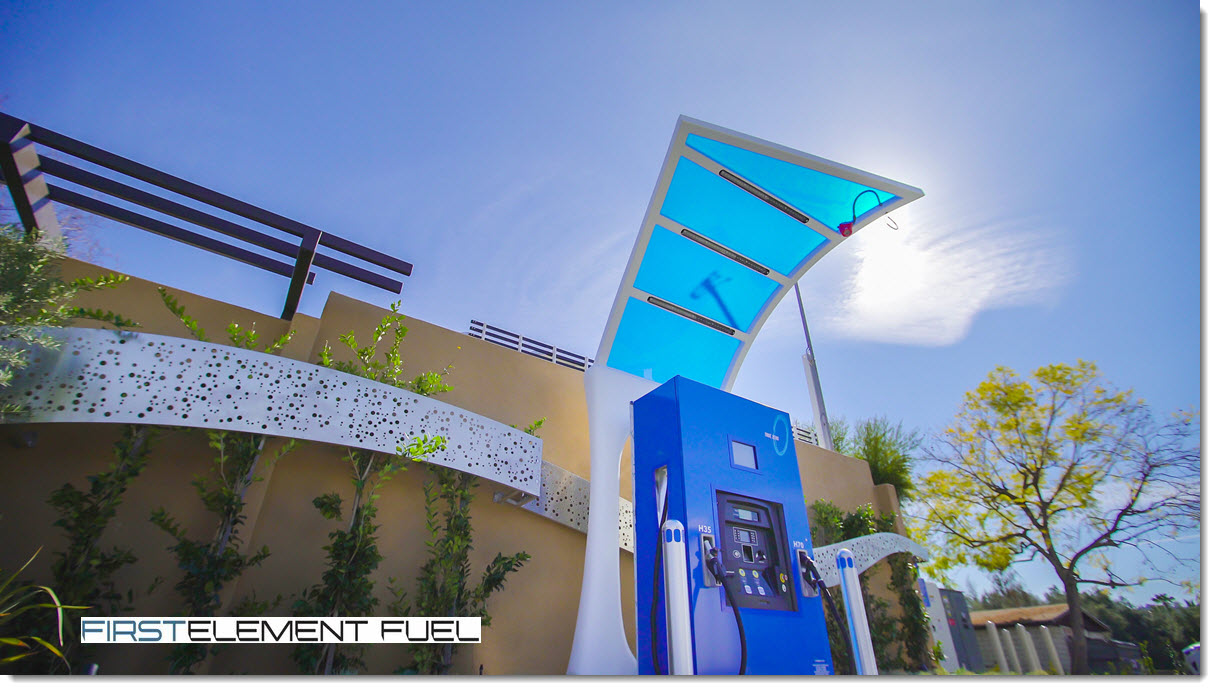 TrueZero Hydrogen Station by First Element Fuel