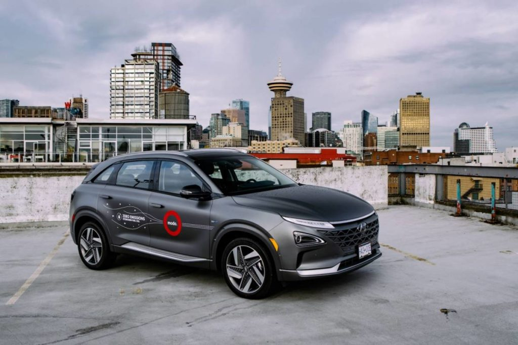 Modo Celebrates Earth Day: Partners with CHFCA & Hyundai to Become First & Only Carshare in Canada to Add Hydrogen Vehicles to its Fleet