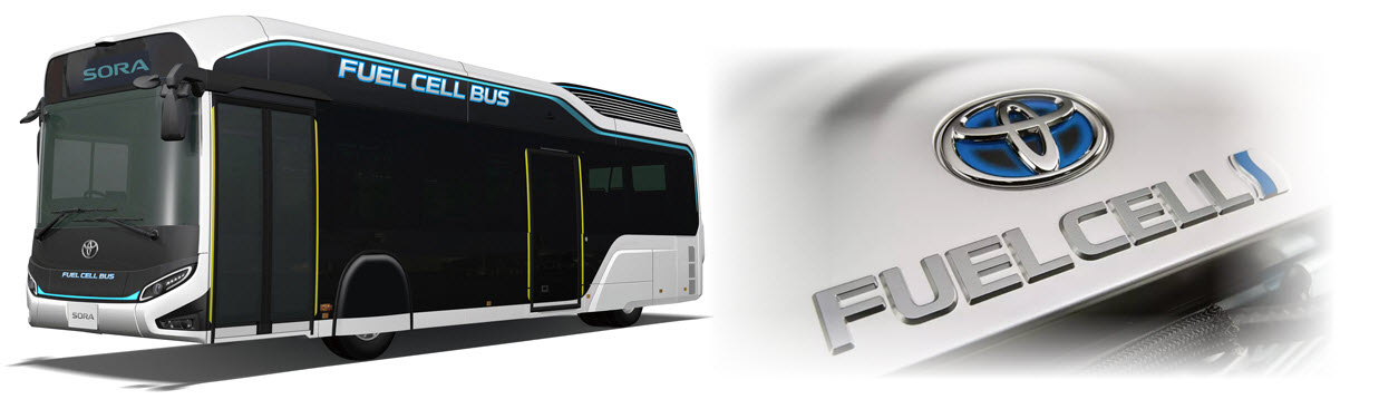 toyota fuel cell bus 2020