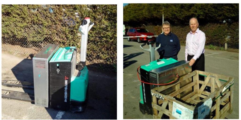 Auriga Energy Fuel Cell Forklift2