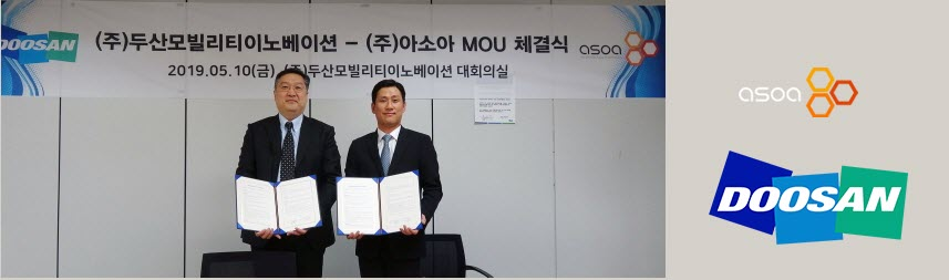 Doosan Mobility and Asoa for Drones1