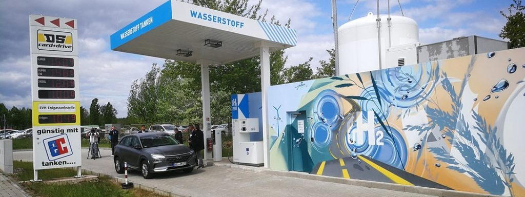 H2 Mobility and Linde Open 70th Hydrogen Station in Halle Germany