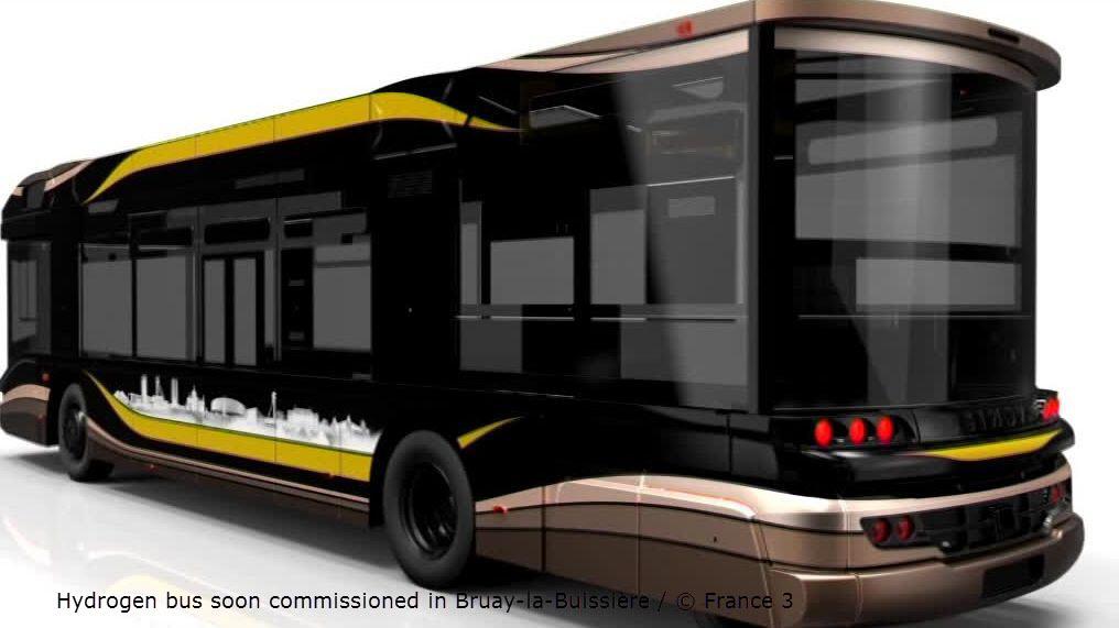 Hydrogen Bus in France Mining Basin