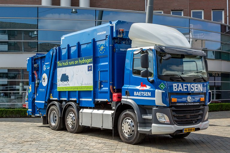 Hydrogen Garbage Trucks