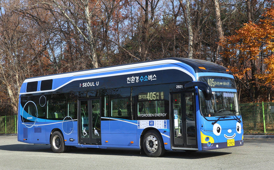 Hyundai Fuel Cell Bus for Seoul Small