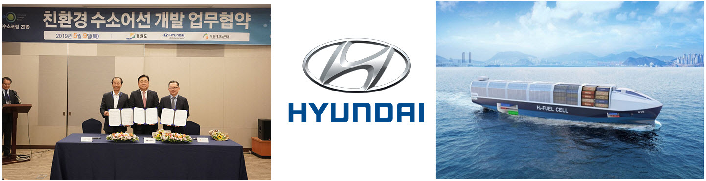 Hyundai Motors to Develop Ship Powered by Hydrogen Fuel