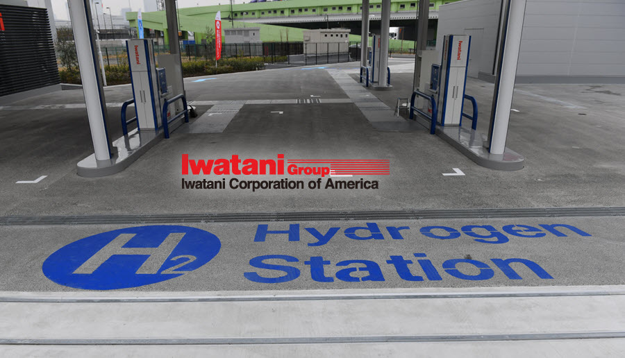 Iwatani Corp Hydrogen Station in America
