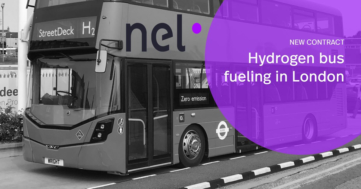 NEL Contract for Hydrogen Bus Refueling in London