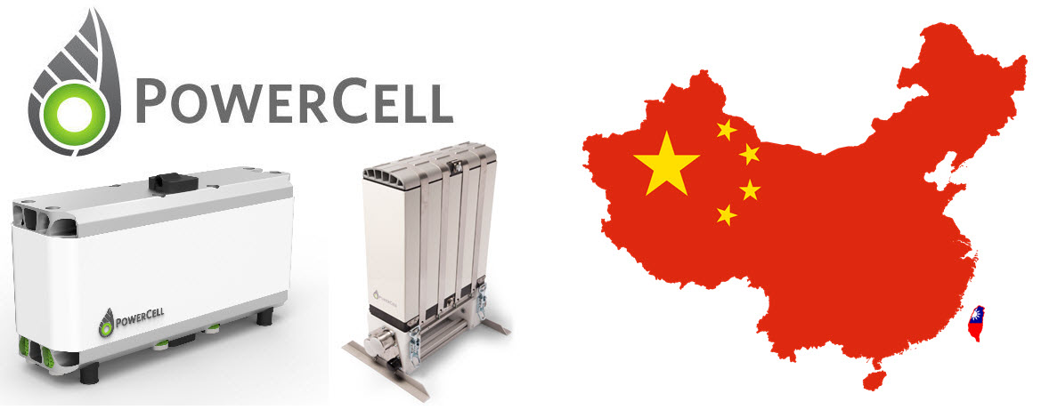 PowerCell Units China