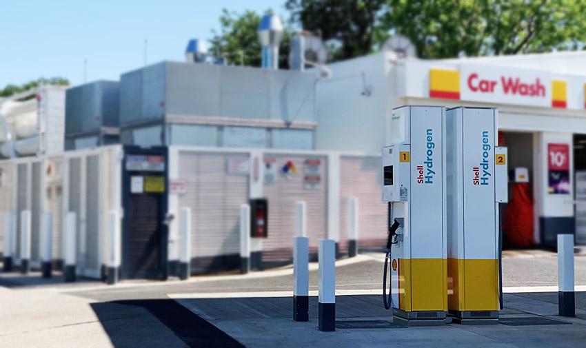 Sacramento hydrogen station