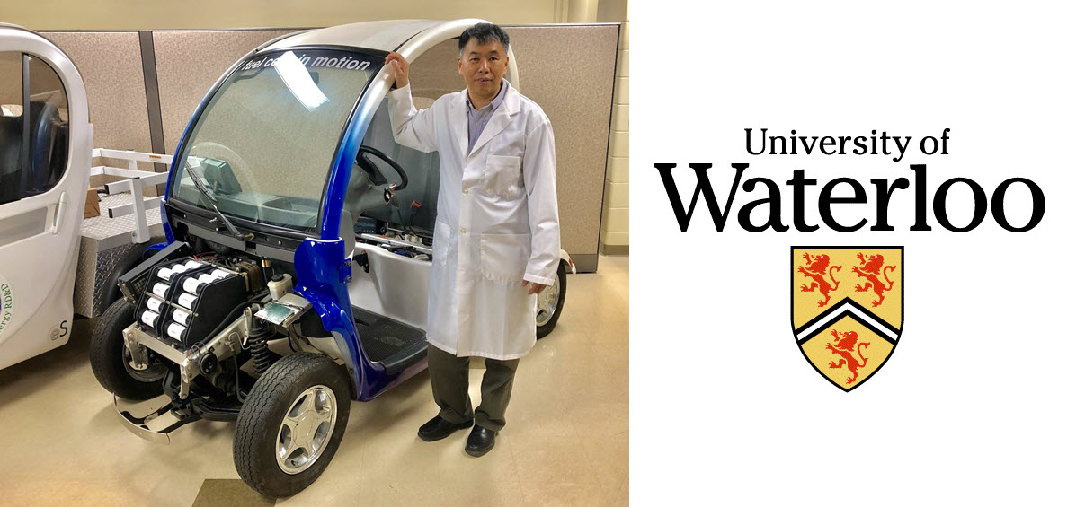 University of Waterloo Fuel Cell Test Vehicle