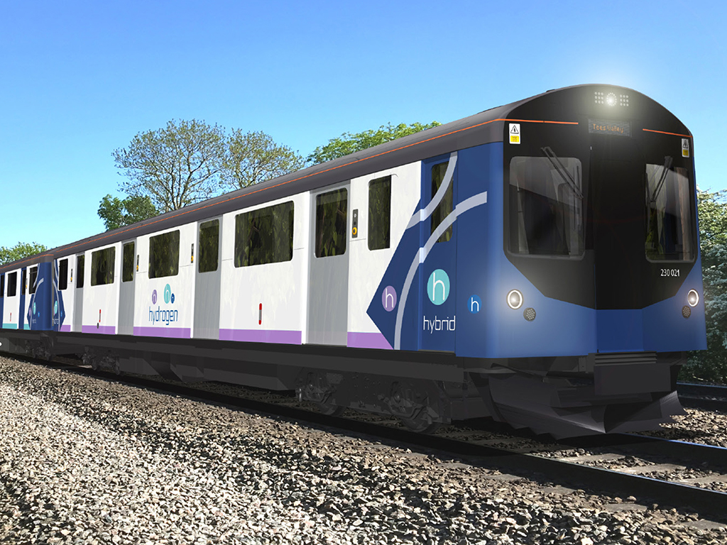 Vivarail and Arcola Hydrogen Fuel Cell Train