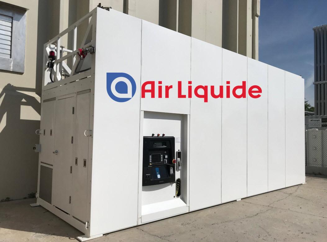 Air Liquide Portable Hydrogen Refueling