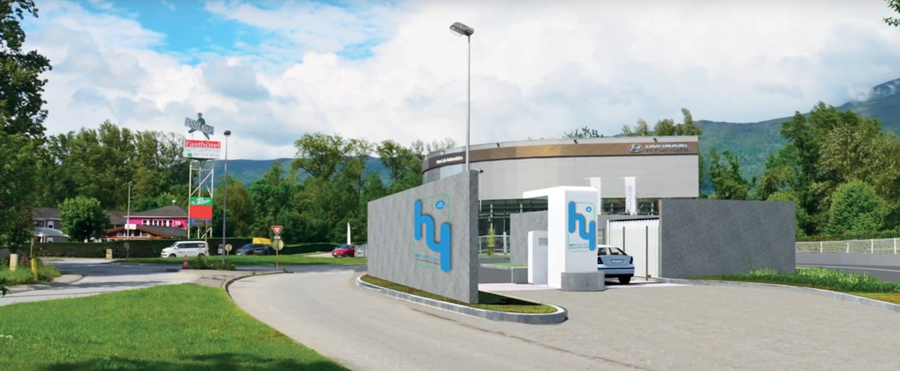 Chambery First Hydrogen Station.2