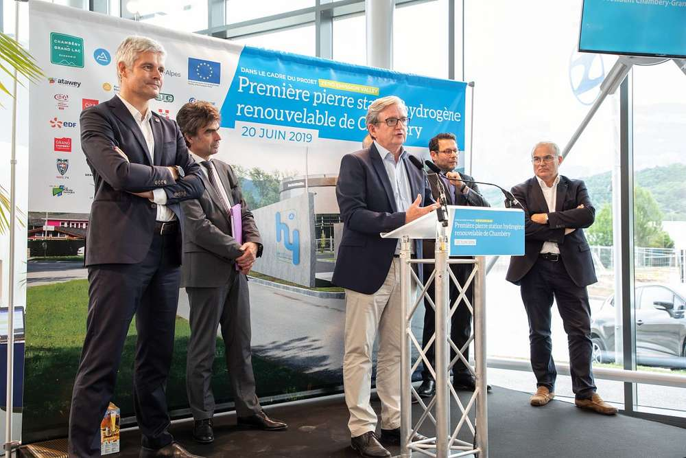 Chambery First Hydrogen Station