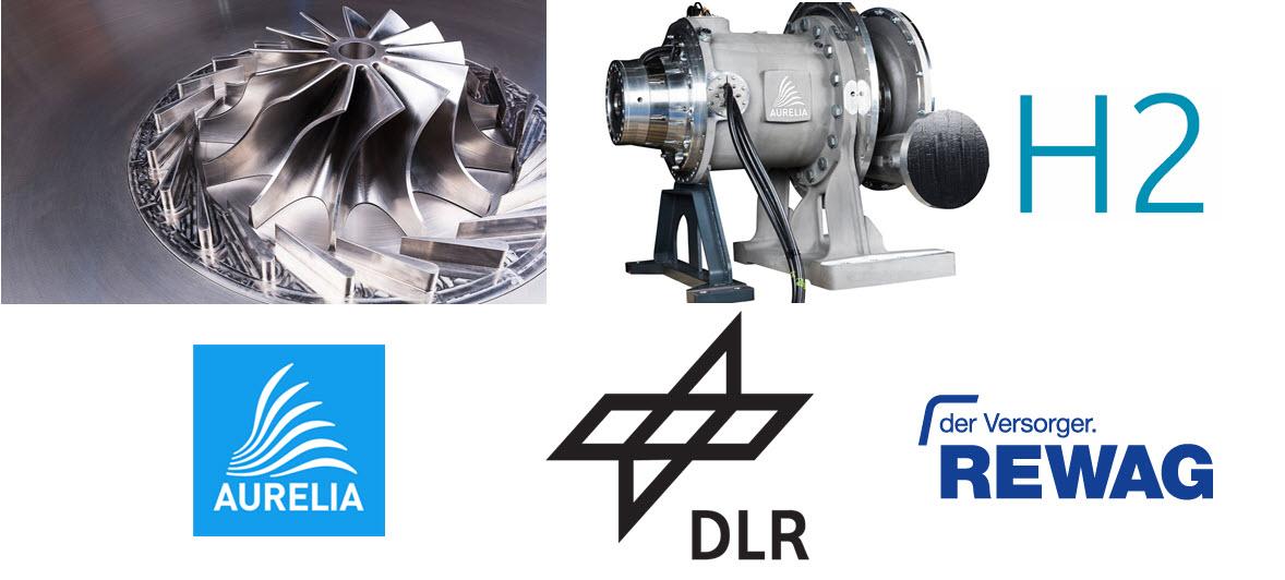DLR Hydrogen Micro Turbines