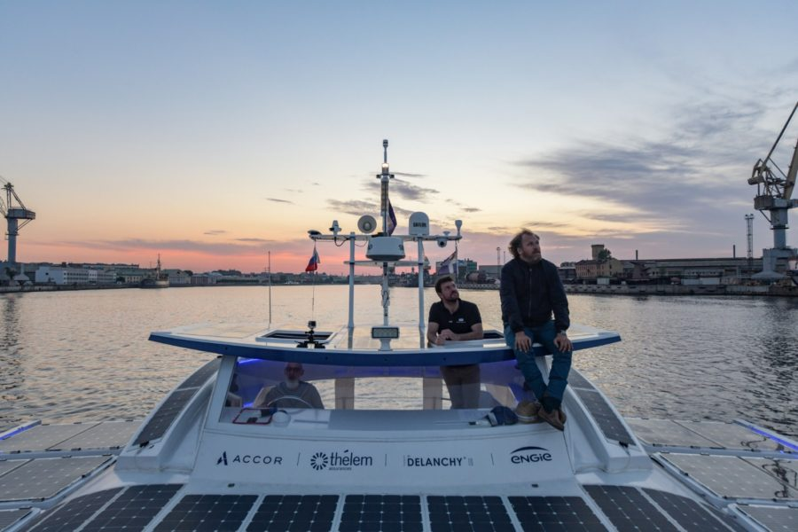 Energy Observer Sailing to Arctic