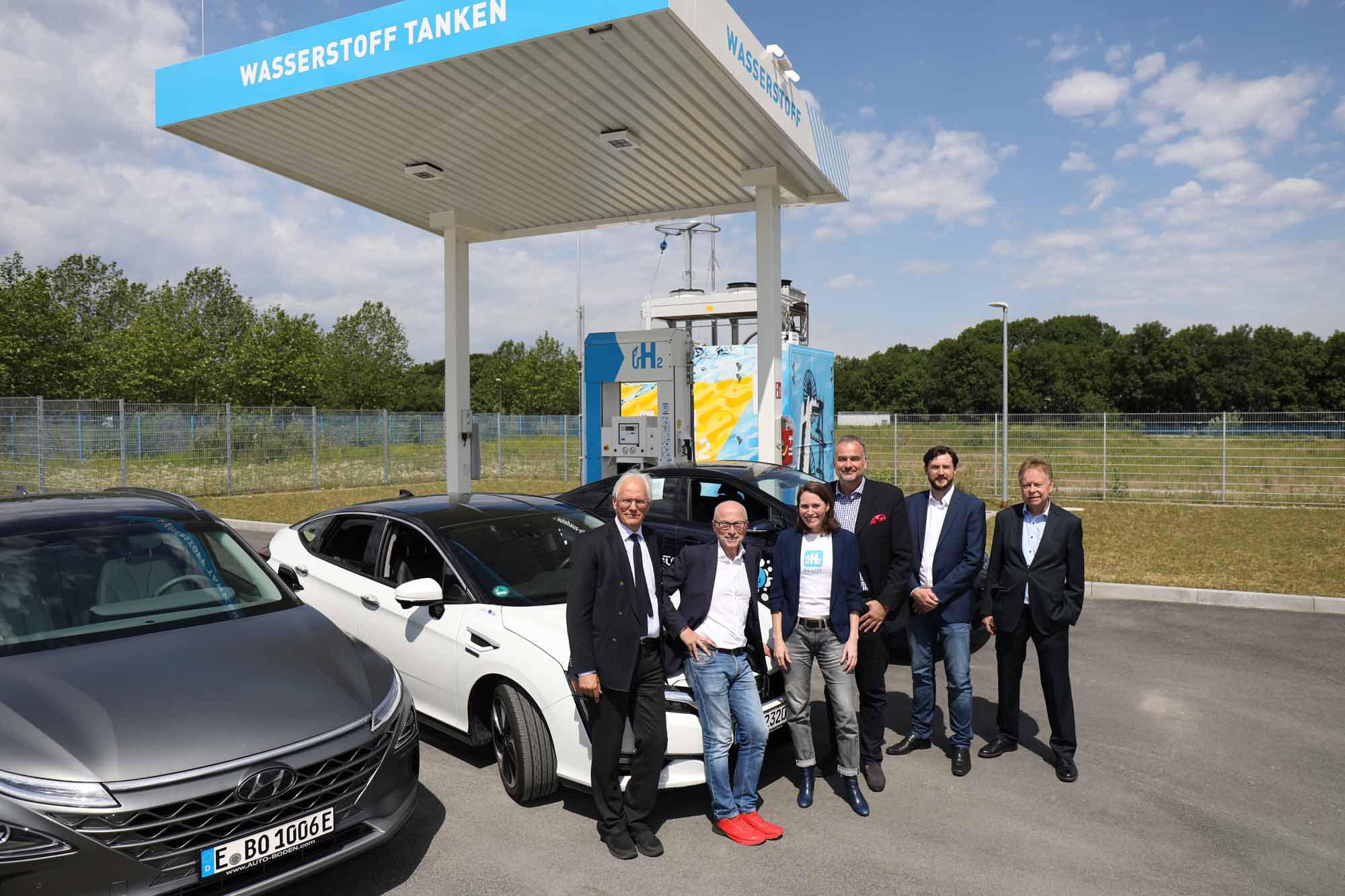 Hydrogen Station in Herten