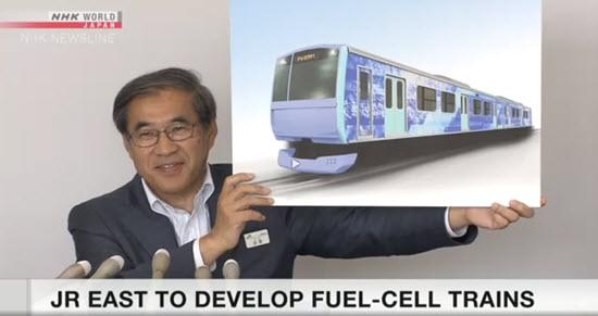 JR East Test Hydrogen Fuel Cell Train2