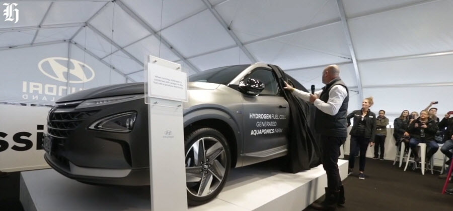 New Zealand Hyundai Nexo Unvieling